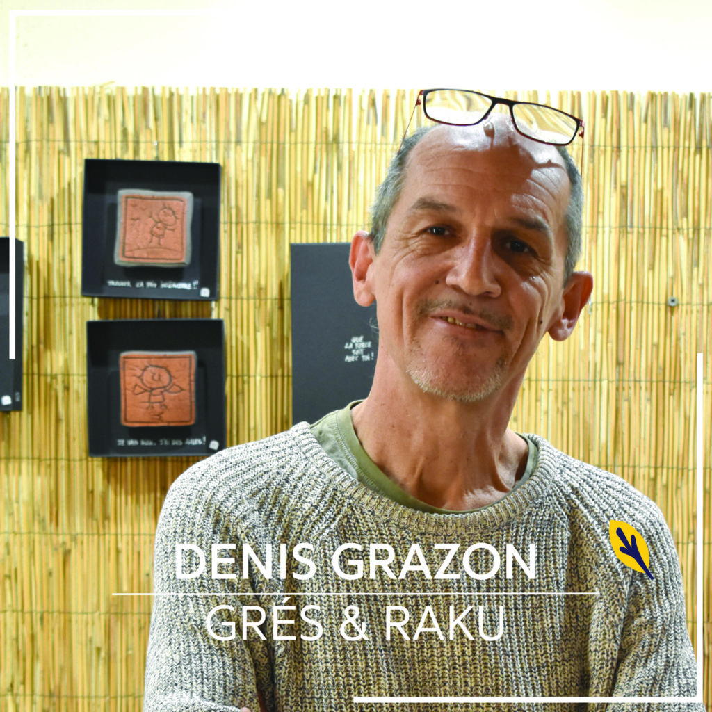 portrait artisan d'art Denis Grazon